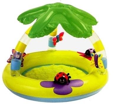Piscina bambini con parasole tutte le migliori offerte online - Gonfiabili con piscina ...
